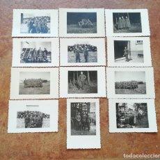 Militaria: LOTE DE FOTOGRAFIAS MILITARES ALEMANES, EPOCA III REICH. Lote 215911891