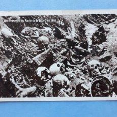 Militaria: UNA TRINCHERA EN EL BARRANCO DE LA MUERTE EN 1919.. Lote 215946396