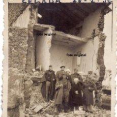 Militaria: DESTRUCCION CELADAS (TERUEL) TRAS LA BATALLA DE TERUEL FEBRERO 1938 GUERRA CIVIL. Lote 215980890