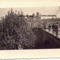 Militaria: VISTA FOTOGRAFICA ALCAÑIZ (TERUEL) LEGION CONDOR GUERRA CIVIL. Lote 216948535