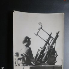 Militaria: BERLIN SEGUNDA GUERRA MUNDIAL ESCUELA DE INFANTERIA AMETRALLADORA FOTOGRAFIA 12,5 X 18 CMTS. Lote 217073528