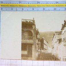 Militaria: POSTAL FOTO FOTOGRAFÍA MILITAR. SIGLO XIX - 1905. DESFILE SOLDADOS REGIMIENTO CARABINEROS? 2244. Lote 217573162