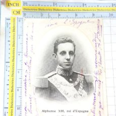 Militaria: POSTAL FECHADA AÑO 1905. ALPHONSE XIII ROI D'ESPAGNE 29 MAI PARIS. REY CASA REAL ALFONSO XIII. 2245. Lote 217573270