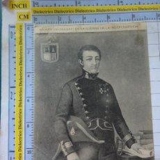 Militaria: POSTAL MILITAR AÑO 1908 I CENTENARIO GUERRA INDEPENDENCIA ANTONIO SANGENIS MEMORIAL INGENIEROS 2251. Lote 217573866
