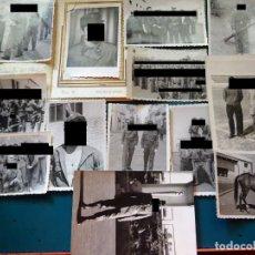 Militaria: 13 FOTOS FOTOGRAFÍAS MILITARES. SOLDADOS RECLUTAS EN SANTA CRUZ TENERIFE AÑO 1959 APROX.. Lote 217574640