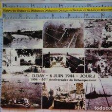Militaria: POSTAL MILITAR. 50 ANIVERSARIO DEL DÍA D. 6 JUNIO 1944 - 1994. DESEMBARCO DE NORMANDÍA. IIWW. 2253. Lote 217574823