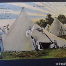 Militaria: LA VIE AU CAMP-5 HEURES DU MATIN-LE REVEIL. CANCION. REPUBLICA FRANCESA. AÑOS 1914-18. Lote 217602138