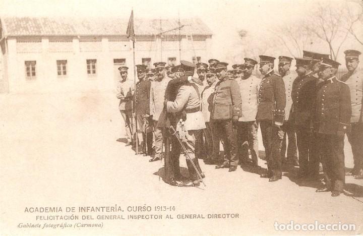 ACADEMIA DE INFANTERÍA , CURSO 1913 - 14 (Militar - Fotografía Militar - Otros)
