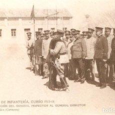 Militaria: ACADEMIA DE INFANTERÍA , CURSO 1913 - 14. Lote 218020128