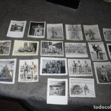 Militaria: LOTE FOTOS SOLDADO REGULARES AFRICA EPOCA FRANCO TETUAN CEUTA. Lote 218226363