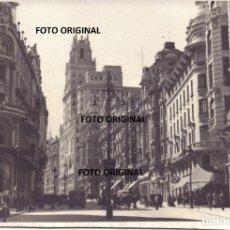 Militaria: GRAN VIA MADRID MAYO 1939 TELEFONICA CTV ITALIANO GUERRA CIVIL. Lote 218304810