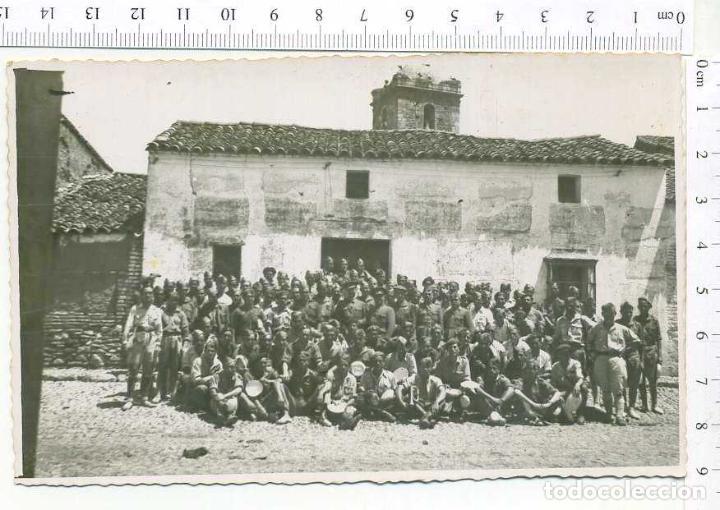 FOTOGRAFIA . GRUPO DE MILITARES, GUERRA CIVIL O POSGUERRA (Militar - Fotografía Militar - Otros)