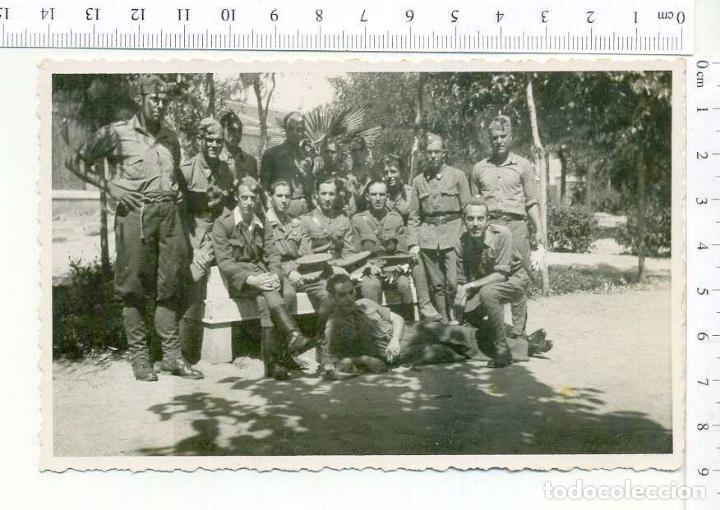 FOTOGRAFIA . GRUPO DE MILITARES , GUERRA CIVIL O POSGUERRA CASA ESCUDER (Militar - Fotografía Militar - Otros)