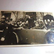 Militaria: MAGNIFICA ANTIGUA FOTO POSTAL DE ALFONSO XIII. Lote 218325295