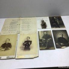 Militaria: LOTE FOTOGRAFIAS REGIMIENTO DE INFANTERIA CASTILLA Nº16 - BADAJOZ AÑOS 20. Lote 218503995
