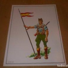 Militaria: LAMINA LANCERO 1925-27. Lote 218822440