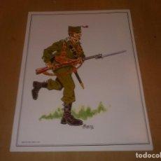 Militaria: LAMINA FRENTE DEL EBRO 1939. Lote 218824162