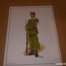 Militaria: LAMINA PARADA TETUAN 1948. Lote 218825058