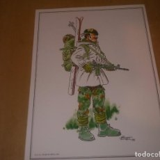 Militaria: LAMINA B.O.E.L TRAJE DE NIEVE 1990. Lote 218830462