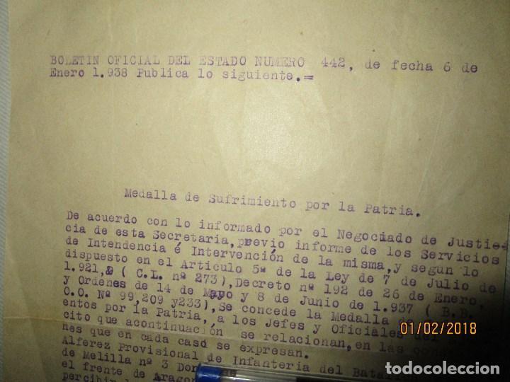 Militaria: burgos ORDEN TENIENTE GENERAL MEDALLA SUFRIMIENTO HERIDO vala FRENTE de ARAGON 1937 GUERRA CIVIL - Foto 4 - 138742774