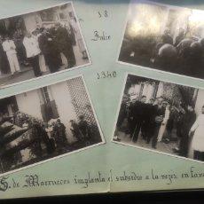 Militaria: ÁLBUM FOTOGRÁFICO DEL JEFE DEL MOVIMIENTO PROVINCIAL Y ALTO COMISARIO DE MARRUECOS 122 FOTOS. Lote 218891300
