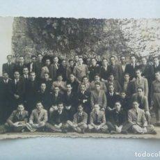 Militaria: GUERRA CIVIL : FOTO DE JOVENES MILITARES Y CIVILES , ALGUNOS FALANGISTAS, 1937. Lote 219020380