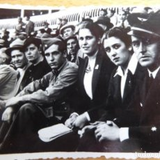 Militaria: FOTOGRAFÍA TENIENTE AVIACIÓN NACIONAL. GIJÓN GUERRA CIVIL. Lote 219331901