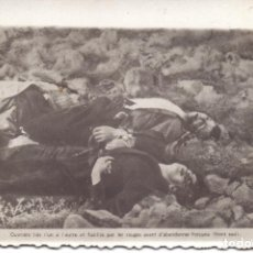 Militaria: FOTO ASESINADOS PORCUNA (JAEN) SEGUN PIE FOTO GUERRA CIVIL. Lote 219350460