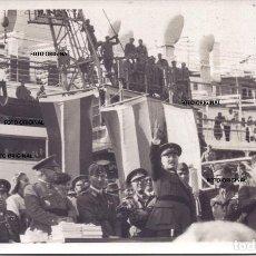 Militaria: ARENGA QUEIPO DE LLANO CORONEL BODINI CTV DESPEDIDA PUERTO CADIZ 1939 GUERRA CIVIL. Lote 219462780