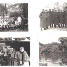 Militaria: 4 FOTOGRAFÍAS DE SOLDADOS DEL III REICH. Lote 219642696
