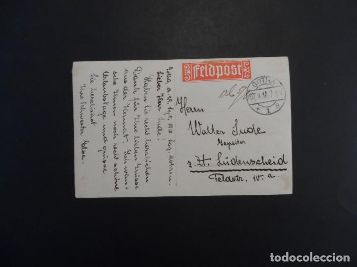Militaria: SOLDADOS IMPERIALES ALEMANES CONVALECIENTES EN HOSPITAL MOHREN EN GOTHA. II REICH. 30.9.1916 - Foto 4 - 219683620