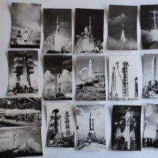 Militaria: 16 FOTOGRAFÍAS - MISILES BALÍSTICOS DE ESTADOS UNIDOS DE AMÉRICA. Lote 219852535