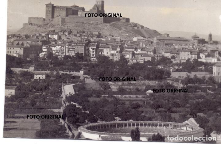 VISTAS ALCAÑIZ (TERUEL) TOMADAS CTV ITALIANO 1938 GUERRA CIVIL ESPAÑOLA (Militar - Fotografía Militar - Guerra Civil Española)