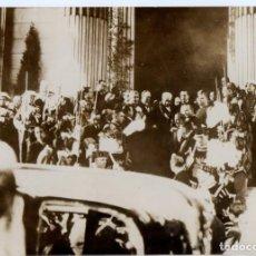 Militaria: 1936 MANUEL AZAÑA NOMBRAMIENTO PRESIDENTE REPUBLICA ESPAÑOLA GUERRA CIVIL MADRID FOTO. Lote 220624646