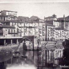 Militaria: PUERTO ONDARRUA PUENTE DESTROZADO FRENTE NORTE 1937 CTV ITALIANO GUERRA CIVIL. Lote 220761280