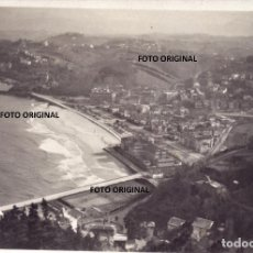 Militaria: VISTAS SAN SEBASTIAN DESDE MONTES 1938 TOMADA CTV ITALIANOS GUERRA CIVIL. Lote 220765118