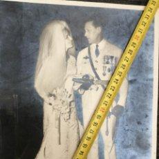 Militaria: FOTOGRAFÍA OFICIAL AVIACIÓN EJÉRCITO DEL AIRE DIVISIÓN AZUL MEDALLAS. Lote 221459678