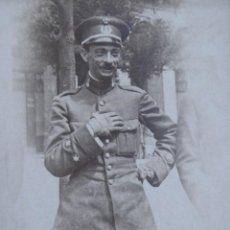Militaria: FOTOGRAFÍA TENIENTE INGENIEROS DEL EJÉRCITO ESPAÑOL. JOSÉ MARIA BAIGORRI Y AGUADO. Lote 221470911