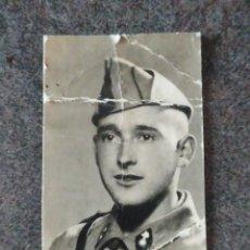 Militaria: FOTO DE CARNET MILITAR DE ARTILLERÍA 1944 ÉPOCA FRANQUISTA. Lote 221645678