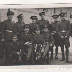 Militaria: POSTAL FOTOGRÁFICA MILTARES CUERPO DE INGENIEROS. NO FIGURA FOTÓGRAFO. SIN CIRCULAR.. Lote 221699321