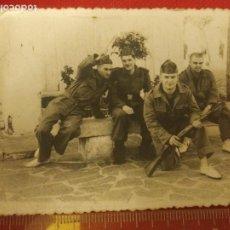 Militaria: FOTOGRAFÍA MILITARES EN MELILLA AÑOS 50. Lote 221722440
