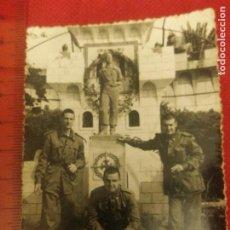 Militaria: FOTOGRAFÍA MILITARES EN MELILLA AÑOS 50. Lote 221722527