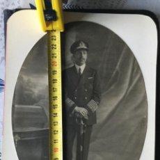 Militaria: FOTOGRAFÍA DE ALFONSO XIII DE CAPITÁN GENERAL DE LA ARMADA MARINA DE GUERRA ESPAÑOLA. Lote 221813713