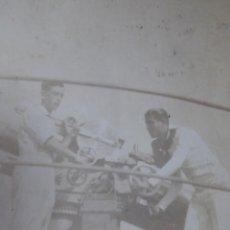 Militaria: FOTOGRAFÍA MARINEROS GUARDACOSTAS ARCILA. ARMADA 1938. Lote 221891142