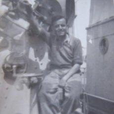 Militaria: FOTOGRAFÍA MARINEROS GUARDACOSTAS ARCILA. ARMADA 1938. Lote 221891906