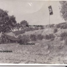 Militaria: CAMPAMENTO LEGION CONDOR FRENTE ARAGON GUERRA CIVIL. Lote 221921997