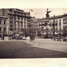 Militaria: PLAZA ESPAÑA ZARAGOZA MILITARIZADA GUERRA CIVIL ESPAÑOLA. Lote 221924443