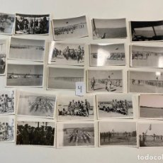 Militaria: 24 FOTOGRAFIAS MILITARES , IV TERCIO SAHARIANO , SAHARA , FUERTE CHACAL , 1960- 1961 , LEGIONARIOS. Lote 221949007