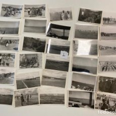 Militaria: 30 FOTOGRAFIAS MILITARES , IV TERCIO SAHARIANO , SAHARA , FUERTE CHACAL , 1960- 1961 , LEGIONARIOS. Lote 221950305