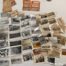 Militaria: 59 FOTOGRAFIAS MILITARES , TERCIO SAHARIANO , SAHARA , FUERTE CHACAL , 1960- 1961 , LEGIONARIOS. Lote 221951003